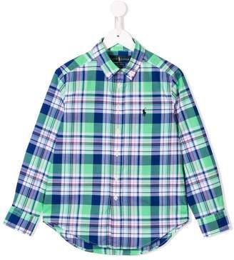 Ralph Lauren Kids plaid shirt
