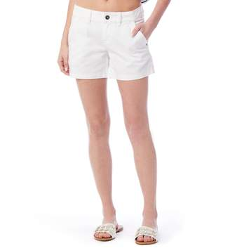UNIONBAY Juniors' Elsie Stretch Twill Midi Shorts