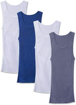 Fruit of the Loom Men's Boys A-Shirts, Pack of 4