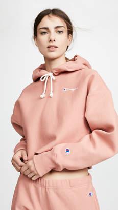 Champion Cropped Hooded Sweatshirt