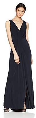 Vera Wang Women's Matte Jersey Maxi