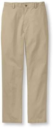 L.L. Bean L.L.Bean Tropic-Weight Chino Pants, Comfort Waist Plain Front
