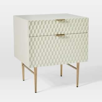 """west elm Audrey Media 21"""" 2-Drawer Cabinet"""