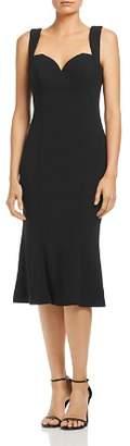 Bariano Jolene Fluted Sweetheart Dress