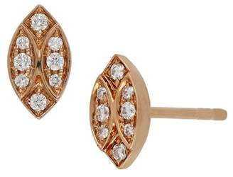 Bony Levy 18K Rose Gold Diamond Marquise Stud Earrings - 0.11 ctw