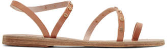 Ancient Greek Sandals Tan Apli Eleftheria Nails Sandals