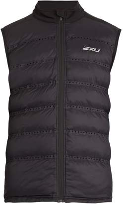 2XU Xvent Momentum padded gilet