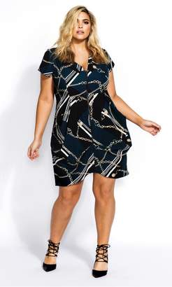 City Chic Citychic Chained Up Tunic