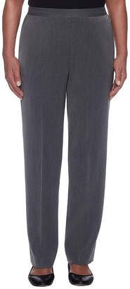 Alfred Dunner Lakeshore Drive Woven Flat Front Pants
