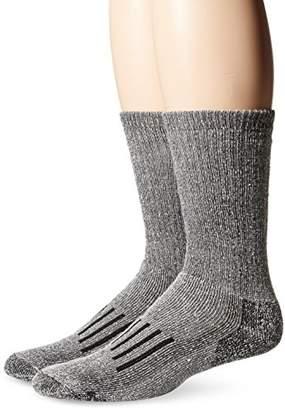 PowerSox Men's Bootsocks Medium Cushion Merino Wool Crew Socks