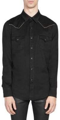 Saint Laurent Western Button-Front Shirt