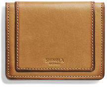 Shinola Men's Layered Card Wallet