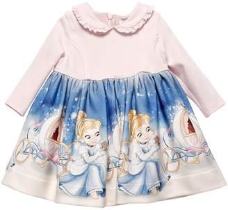 MonnaLisa CINDERELLA PRINT MILANO JERSEY DRESS