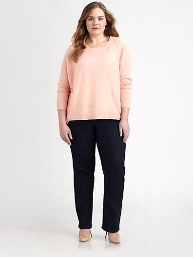 Eileen Fisher Eileen Fisher, Salon Z Lightweight Linen Sweater