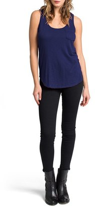 Women's Lamade Boyfriend Pocket Tank $44 thestylecure.com