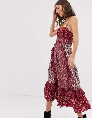 Free People Yesica floral print maxi dress