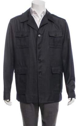 Gucci Wool Field Jacket navy Wool Field Jacket