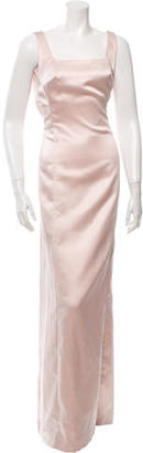 Vera Wang Sleeveless Satin Gown w/ Tags $175 thestylecure.com
