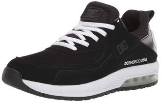 DC Women's VANDIUM SE Skate Shoe Black/White 6.5 M US