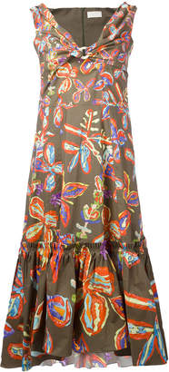 Peter Pilotto floral printed shift dress