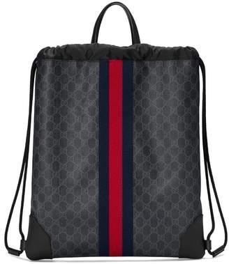 Gucci Soft GG Supreme drawstring backpack