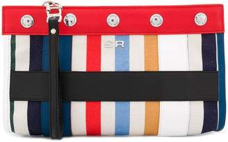 Sonia Rykiel striped clutch