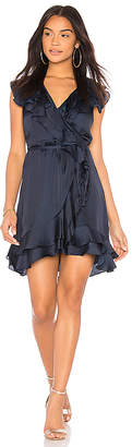 Bardot Ruffle Mini Dress