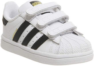 huge discount 355cf 0d05c adidas Superstar Infant 2-9 Trainers White Core Black White