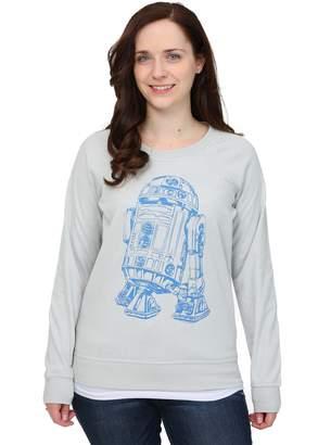 Mighty Fine R2D2 Rebel Reversible Womens Sweatshirt