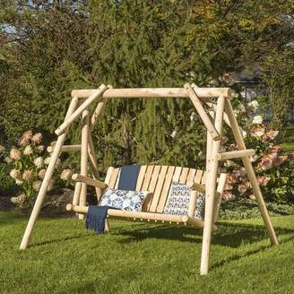 Loon Peak Hooper Porch Swing with Stand