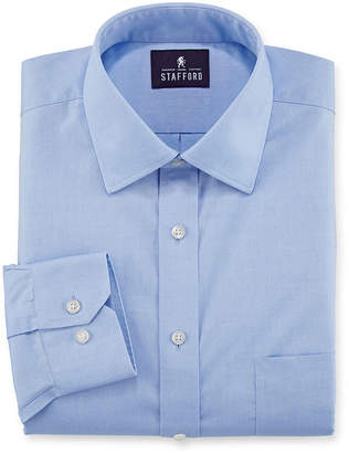STAFFORD Stafford Executive Non-Iron Cotton Pinpoint Oxford Dress Shirt - Big & Tall