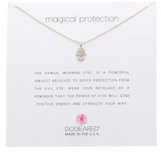 Hamsa necklace shopstyle dogeared magical protection hamsa pendant necklace aloadofball Images