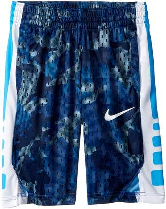 Nike Dry Elite Printed Basketball Shorts Boy's Clothing