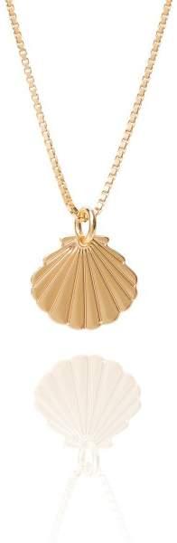 Styleserver DE Malaika Raiss Halskette Sea Shell vergoldet