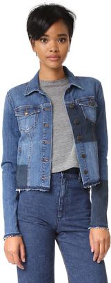 Joe's Jeans Steve Denim Jacket $198 thestylecure.com