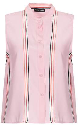 e64fd97d Emporio Armani Pink Tops For Women on Sale - ShopStyle UK