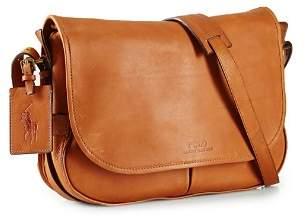 Ralph Lauren Core Leather Messenger Bag