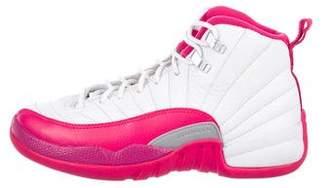 "Jordan Girls' 12 Retro GG ""Valentine'S Day"" Sneakers"