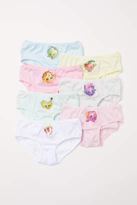 H&M 7-pack Cotton Briefs - Pink