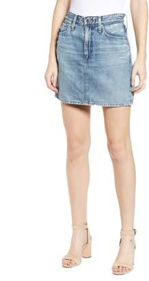 9744eaa65c45 AG Jeans Vera Denim Miniskirt