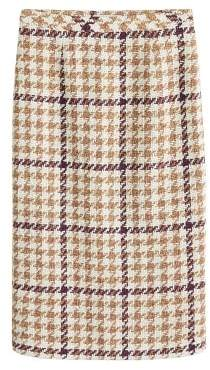MANGO Houndstooth pencil skirt