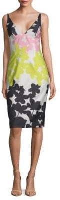 Milly Liz Sleeveless Print Dress