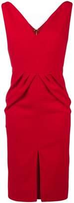 DAY Birger et Mikkelsen Rhea Costa fitted waist sleeveless dress