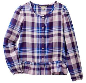 Lucky Brand Parker Plaid Top (Little Girls)