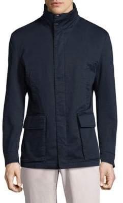 Strellson Zip-Front Cotton Jacket