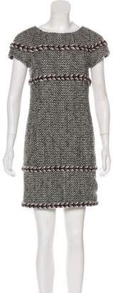 Chanel Herringbone Sheath Dress