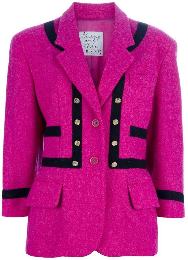 Moschino Vintage wool jacket