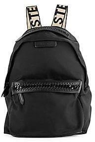Stella McCartney Women's Small Falabella Nylon Backpack