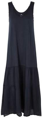 Velvet by Graham & Spencer Agnes Frayed Cotton Maxi Dress