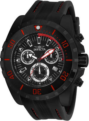 Invicta 24922 Black & Red Pro Diver Watch